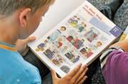 Salmsacher Sechstklässler lernen Französisch. (Bild: Reto Martin (2. Oktober 2012))