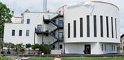 Am 13. Mai 2017 wurde die albanisch-muslimische Moschee im Wiler Südquartier eingeweiht. Das Gebäude umfasst auch öffentlich zugängliche Begegnungsräume. (Bild: Hans Suter)