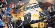 Der neue Imagefilm der Ausserrhoder Kantonspolizei kommt als spannender Spielfilm daher. Am Schluss siegt die Polizei. (Bild: PD)