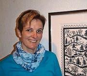 Jolanda Brändle macht seit 1998 Scherenschnitte. (Bild: pd)
