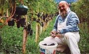 Franz Bieri, 1946–2016, an seinem Lieblingsort. (Bild: PD)