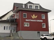 Ungewisse Zukunft für das Restaurant Krone. (Bild: Zita Meienhofer)