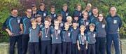 Die Nachwuchsringer des RC Oberriet-Grabs zeigten starke Leistungen. (Bild: PD)