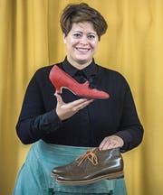Etwas ausserhalb von Weinfelden entwickelt Ena Ringli in ihrem Atelier nach alter Schuhmachertradition die Prototypen ihrer Kollektionen. (Bilder: Reto Martin)