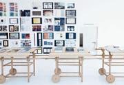 Die Austellung zum Wettbewerb «Die schönsten Schweizer Bücher 2014» im Helmhaus Zürich. (Bild: Guadalupe Ruiz/Bundesamt für Kultur)