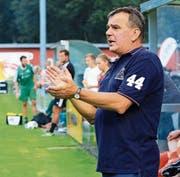 Neotrainer Ranko Telic gibt dem eigenen Nachwuchs eine Chance. (Bild: Robert Kucera)