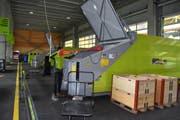 Grosszügig: Der neue Ecohof in Sargans bietet eine gedeckte Sammelstelle und eine Anlage für Grosslieferungen. (Bild: Andreas Hörner)