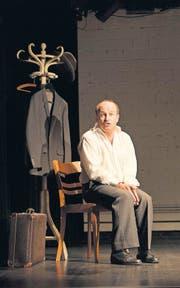 Fesselndes Erzähltheater: «Fontamara» lebt von Matthias Peters eindringlichem Spiel. (Bild: Olivia Hug)