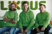 Das Flixbus-Führungstrio (von links):Daniel Krauss, Jochen Engert und André Schwämmlein. (Bild: PD)