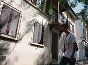 Der Kaff-Vorstand könnte das Haus an der Rheinstrasse 14 zu einem Freundschaftspreis mieten. (Bild: Thomas Wunderlin)