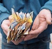 Armut in der Schweiz ist oft noch ein Tabuthema. (Bild: Ennio Leanza)