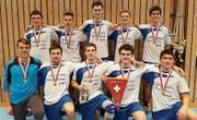 Das Junioren-Meisterteam des STV Eggethof. (Bild: PD)