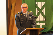 Er wünscht sich, dass sich der Frauenanteil der Armeeangehörigen mittelfristig deutlich erhöhen wird: Korpskommandant Daniel Baumgartner, Chef Kommando Ausbildung der Armee. (Bild: pd)