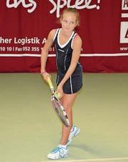 Alina Granwehr ist viertbeste Schweizer Tennisspielerin ihres Jahrgangs. (Bild: pd)