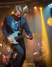 Michael Giger 2017 am Bluesfestival Frauenfeld. (Bild: Andrea Stalder)
