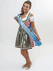 Justine Segenreich ist die amtierende Miss Oktoberfest Tannzapfenland 2016. Bald muss sie ihre Schlaufe abgeben. (Bild: PD/Lightplay Fotografie)