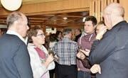 Nach der Hauptversammlung wurden angeregte Gespräche unter Berufskollegen und -kolleginnen geführt. (Bild: Heidy Beyeler)