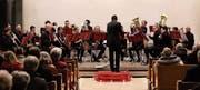 Das Blasorchester Heiden wird von Stefan Zeller aus Hinterforst dirigiert. (Bild: PD)