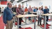 FDP Werdenberg bei Neujahrsbegrüssung auf Firmenbesuch (Bild: PD)