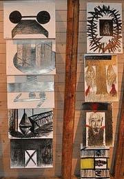 Zeichnungen von Heinz Völki.