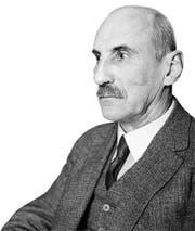 schnitt - Portrait von Bundesrat Heinrich Haeberlin (1868-1947), undatierte Aufnahme. Haeberlin war von 1920 bis 1934 im Bundesrat. Spaeter war er von 1939 bis 1944 Praesident der Pro Helvetia. (KEYSTONE/PHOTOPRESS-ARCHIV/Str) === COPYRIGHTPFLICHTIG BW ONLY === (Bild: STR (PHOTOPRESS-ARCHIV))