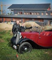Das Ehepaar Hürlimann hofft, dass ihr Museum 2018 eröffnet werden kann. (Bild: Ralph Ribi (4. November 2016))