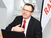 Medienorientierung des Thurgauer Verbands der Raiffeisenbanken, Schneider. (Bild: pd)