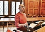«Es hat sich eine Magie entwickelt»: Autor Paul Steinmann hatte den Text für das Festspiel «Der dreizehnte Ort» verfasst. (Bild: pk)