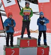 Im Spezialspringen sicherte sich der Obertoggenburger Lars Künzle Platz eins in der Gesamtwertung der Helvetic Nordic Trophy. (Bild: PD)
