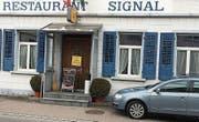 Bis heute noch wegen Umbau geschlossen: das Restaurant Signal an der Glärnischstrasse 9 in Wil. (Bild: Simon Dudle)
