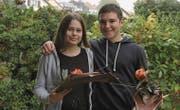 Die neue Präsidentin Valeria Toplanaj und der neue Präsident Ruben Cocco. (Bild: Julia Mikeladze)