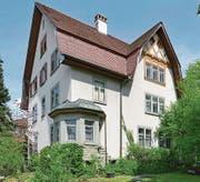 Das Pfarrhaus an der Ringstrasse aus dem Jahr 1908 ist denkmalpflegerisch als wertvoll eingestuft. (Bild: Amt für Denkmalpflege/PD)