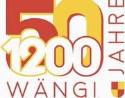 50 und 1200 Jahre Wängi – das Logo hat die Gemeinde für die beiden bevorstehenden Jubiläen kreieren lassen. (Bild: PD)