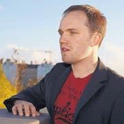 Der gebürtige Wiler Michael Hasenfratz lebt heute in Berlin. Am ESC tritt er dennoch für die Schweiz an. (Bild: pd)