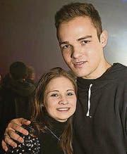 Naomi Wehrli (20) und Hanspeter Frey (20)