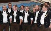 Der Jodelklub Hohgant Schangnau im Emmental kam mit 19 Jodlern ins Toggenburg.