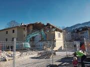 Das Parkcafé und das Haus Knoll wurden abgerissen.