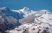 Winterlandschaft nach dem Beginn des astronomischen Frühlings (Bild: Walter Roggensinger)