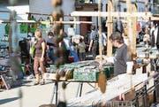 Die diesjährige Austragung des Flohmarkts wurde bereits abgesagt. (Bilder: Urs M. Hemm)