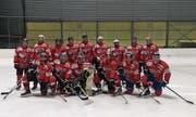 Mannschaftsfoto des Steiner-Cup-Siegers 2016/2017: der HC Altnau. (Bild: pd)