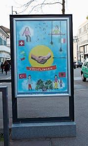 Die prämierten Plakate zieren derzeit den Boulevard in Kreuzlingen. (Bild: Nicole D'Orazio)