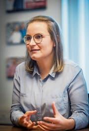 Die neue Startnetzwerk-Geschäftsführerin Tiziana Ferigutti. (Bild: Reto Martin)