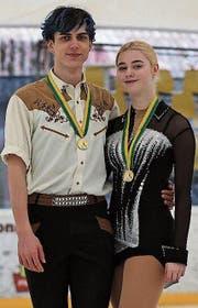 Alain Schuler und Denise Gerber heissen die Thurgauer Meister 2018. (Bild: PD)