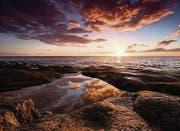 Wolkenspiel und Felsen: Tobias Theilers Fotografien wirken wie gemalt. (Bild: pd)