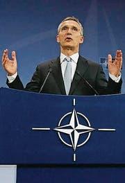 Nato-Generalsekretär Jens Stoltenberg (Bild: EPA)