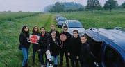 Gemeinsam sagen die Thurgauer Jungpolitiker Nein zu BTS/OLS. (Bild: pd)