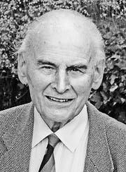 Peter Wegelin (1928–2016) (Bild: pd)