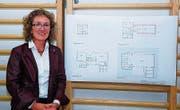 Schulpräsidentin Mathilda Halter ist froh, dass die Pläne des Umbaus umgesetzt werden können. (Bild: Roman Scherrer)