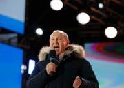 Wladimir Putin ist für eine vierte Amtszeit als russischer Präsident wiedergewählt worden. (Bild: Keystone)