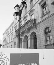 Regierungsgebäude in Frauenfeld. (Bild: Reto Martin)